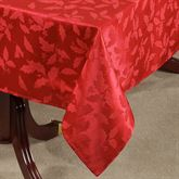 Holly Damask Tablecloth