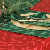 Holly Damask Placemat Set