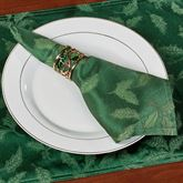 Holly Damask Napkin Set