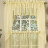 Harmony Semi Sheer Swag Valance Pair 56 x 38