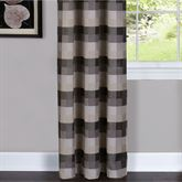 Harvard Grommet Curtain Panel Black