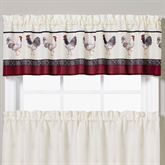 French Country Tailored Valance Light Cream 58 x 13