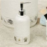Sea Scape Lotion Soap Dispenser Light Cream
