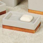 Concrete Soap Dish Gray