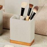 Concrete Brush Holder Gray