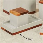 Concrete Vanity Tray Gray