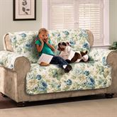 English Floral Furniture Protector Cover Loveseat