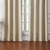 Annalise Wide Tailored Curtain Pair Haystack 100 x 84