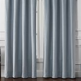 Gracious Florence Wide Tailored Curtain Pair Steel Blue 100 x 84