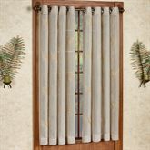 Islander Semi Sheer Grommet Curtain Panel Natural