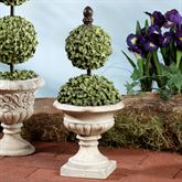 Percelle Topiary I Accent Aged Stone
