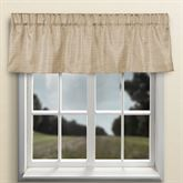 Grasscloth Tailored Valance 54 x 15