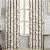 Dream Wide Tailored Curtain Pair Ivory 100 x 84