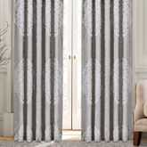 La Scala Tailored Curtain Pair Silver 96 x 84