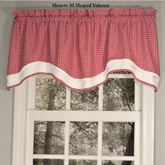 Oak Bluffs M Shaped Valance 54 x 17