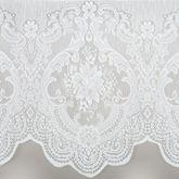 Vanessa Short Tailored Panel White 56 x 54