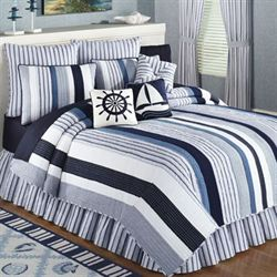 Nantucket Dream Quilt Blue