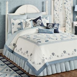 Treasures By Sea Quilt Dusk Blue