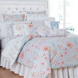 Savannah Garden Reversible Mini Comforter Set Multi Cool