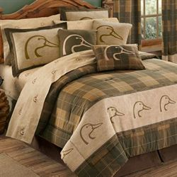 Ducks Unlimited Comforter Set Multi Warm