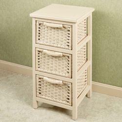 Corvaserro Storage Cabinet Whitewash
