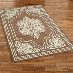 Venice Lace Rectangle Rug Topaz