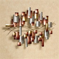 Inception Metal Wall Sculpture Multi Metallic