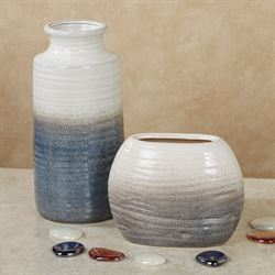 Tempest Vases Gray Set of Two