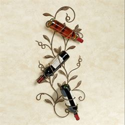 Olivero Wall Wine Rack Tuscan Rustic