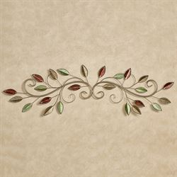 Forest Charm Decorative Wall Topper Multi Earth