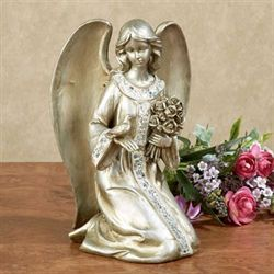 Angelic Blessings Figurine Platinum