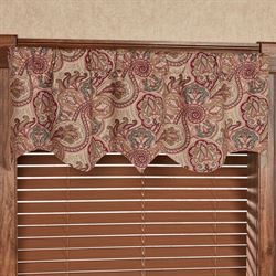 Daventry Regal Valance Cordovan 52 x 14