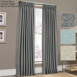 Menlo Pinch Pleat Curtain Panel