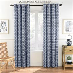 Burket Grommet Curtain Panel