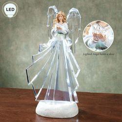 Lighted Angel Figurine Clear