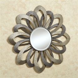 Lunar Unmasking Wall Mirror Multi Metallic