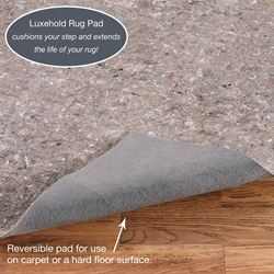 Luxehold Rectangle Rug Pad Gray