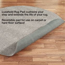 Luxehold Round Rug Pad Gray