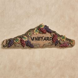 Vintage Harvest Wall Topper Multi Earth
