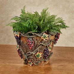 Vintage Harvest Planter Multi Earth