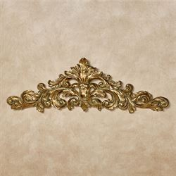 Veronique Decorative Wall Topper Verdi Gold