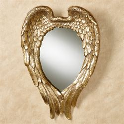 Song of the Angels Wall Mirror Baroque Gold