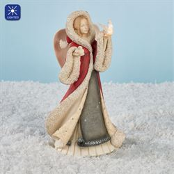 Angel with Doves Figurine Multi Warm