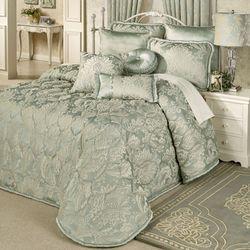 Villa Verde Grande Bedspread Celadon