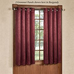 Essential Blackout Short Grommet Curtain Panel 56 x 54