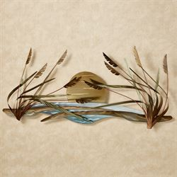 Coastal Breeze Wall Sculpture Multi Metallic
