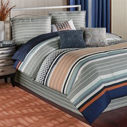 Sven Comforter Bed Set Multi Warm
