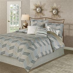 Niko Comforter Bed Set Multi Warm