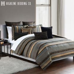 Valencia Mini Comforter Set Onyx