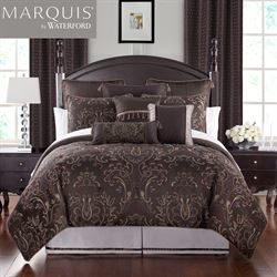 Pierce Comforter Set Chocolate